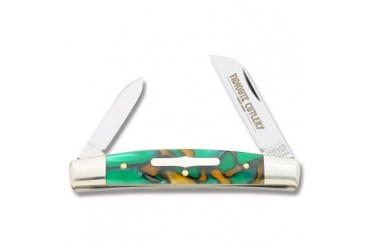 Tidioute 2 Blade Congress with St. Patty's Day Acrylic Handle