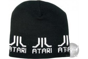 Atari Logos Embroidered Beanie