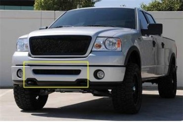 T-Rex Grilles Upper Class; Mesh Bumper Grille Bolt-On Insert 52555 Bumper Valance Grille Inserts