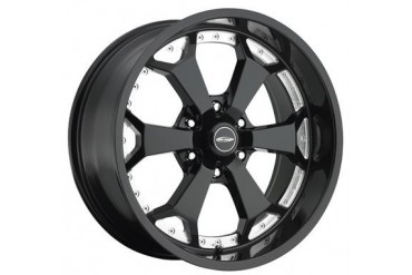 Pro Comp Alloy Wheels Series 8180, 20x9 with 6 on 135 Bolt Pattern - Gloss Black Machined 8180-2936 Pro Comp Xtreme Alloy Wheels