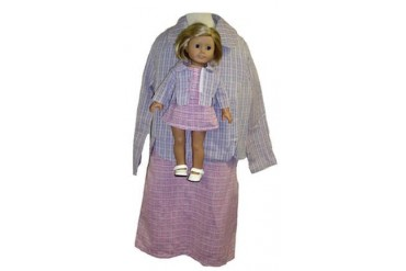 Matching Doll And Girl Clothes Designer Suit Size 10