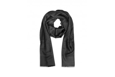 Signature Wool and Silk Long Scarf
