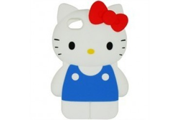 Hello Kitty Classic Full Body 3D iPhone 4/4S Silicone Phone Case