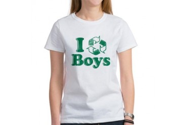 I Recycle Boys Humor Women's T-Shirt