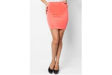 LASH Bow Back Mini Skirt