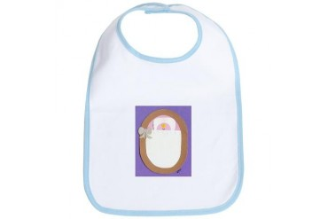 Pink Bitty Baby Baby Bib by CafePress