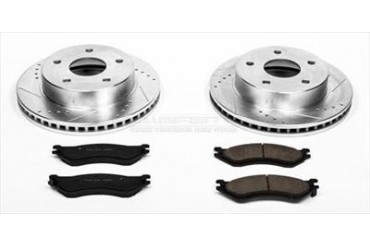 Power Stop Performance Brake Upgrade Kit K5143 Replacement Brake Pad and Rotor Kit
