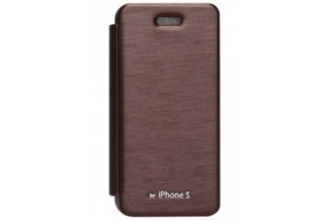 Techno Flip Cover iP5/5S [Brown]