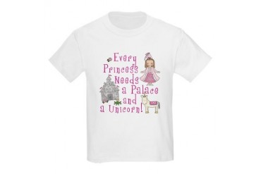 Every Princess Kids Light T-Shirt