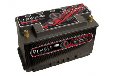 Braille Lithium Ion Intensity Carbon Starting Battery 1340 Amp 11 x 7 x 8 inch Right Positive