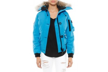 Chilliwack Bomber in Blue Topaz - designed by Canada Goose