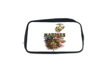 MARINES: Semper Fidelis Vintage Toiletry Bag by CafePress