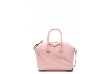 Givenchy Pink Leather Antigona Sugar Mini Shoulder Bag