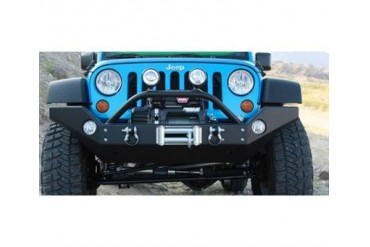 Rock Hard 4x4 Parts Full Width Front Bumper with Recessed Winch Mount  RH5005 Front Bumpers