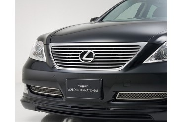 Wald International Executive Front Bumper Grill Lexus LS460 LS460L LS600h 07-09