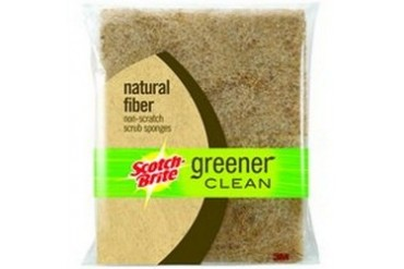 8 Pack 3M 97050 Green Clean Nat Fiber Scour