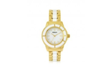Tokyo 38 Gold and Resin Women's Watch