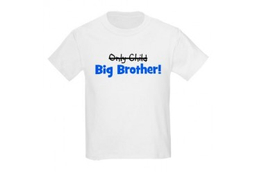 Big Brother (Only Child) Kids Light T-Shirt