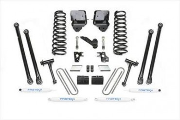 Fabtech 6 Inch Long Arm System w/Performance Shocks  K3035 Complete Suspension Systems and Lift Kits