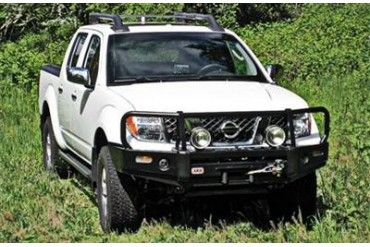 Arb 4x4 Accessories Black Nissan Xterra Deluxe Bull Bar Winch Mount Bumper 3438260 Front Bumpers