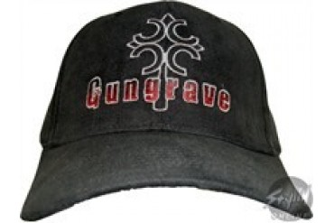 Gungrave Logo Black Embroidered Stretchable Hat