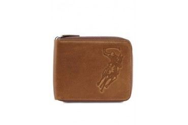 Polo Embossed Logo Leather Wallet