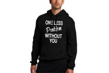 One Less Problem Without You Ariana Grande Iggy Azalea Adult Hoodie