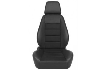 Corbeau Sport Seat in Black Vinyl/ Black Cloth 90011PR Seat