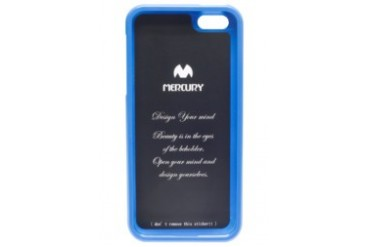 Mercury Case Color Pearl Jelly Case iPhone 5 [Blue]