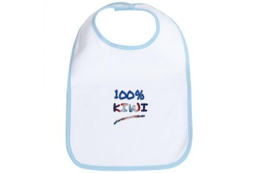 100 NEW ZEALAND Rugby Bib by CafePress