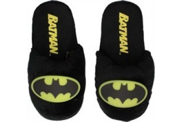 DC Comics Batman Glow in the Dark Logo Slippers