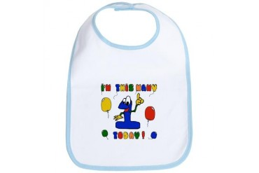 Baby's First Birthday Family Bib by CafePress