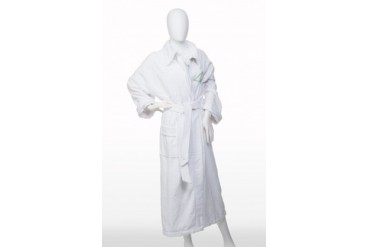 100% Egyptian Cotton Bath Robe With Pockets, Large Size