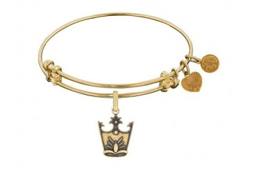 Angelica Collection Glinda Crown Expandable Bangle