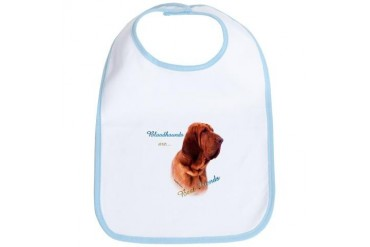 Bloodhound Best Friend Pets Bib by CafePress