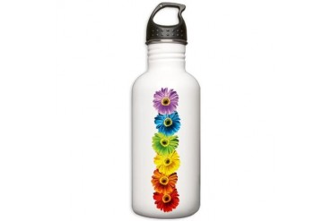 Rainbow Daisies Stainless Water Bottle 1.0L