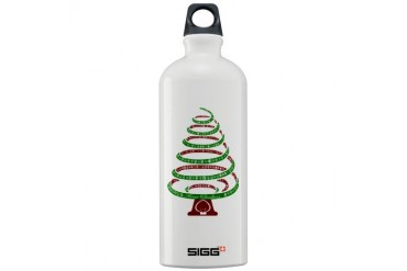 Christmas Tree Holiday Sigg Water Bottle 1.0L by CafePress