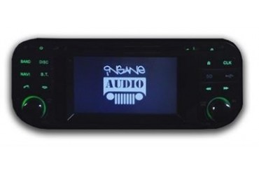 Insane Jeep Audio In-dash Navigation and Multimedia Entertainment System TJ1001 Audio & Multimedia Receivers