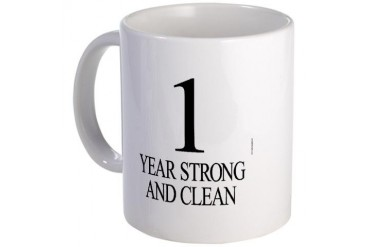 Strong and Clean Aa Mug by CafePress