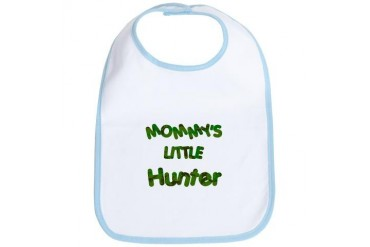 Mommy's little Hunter Sports Bib by CafePress