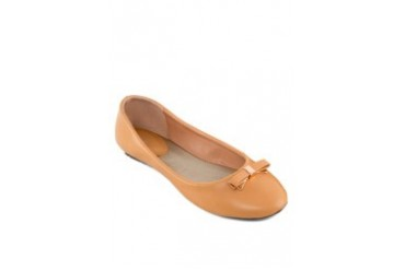 VISS Faux Leather Ballerinas