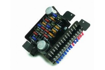 painless wiring 12 circuit compact universal pro street fuse block rh anyprices com