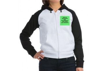physicst Funny Women's Raglan Hoodie by CafePress