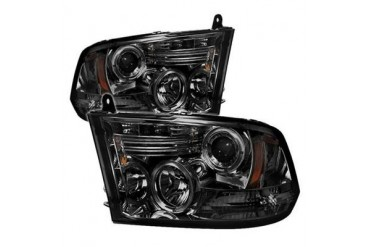 Spyder Auto Group Halo LED Projector Headlights 5010056 Headlight Replacement