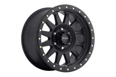 Method Race Wheels Double Standard, 15x8 with 5 on 4.5 Bolt Pattern - Black MR30458012524N Method Race wheels