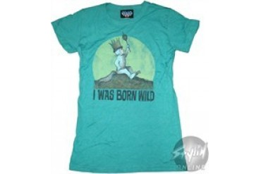 Where the Wild Things Are Crown Baby Doll Tee by JUNK FOOD