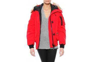 Chilliwack Bomber in Red - designed by Canada Goose