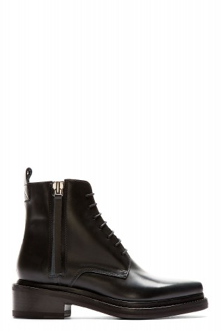 Acne Studios Black Leather Pointed Linden Ankle Boots - Price Comparison 5437e188259