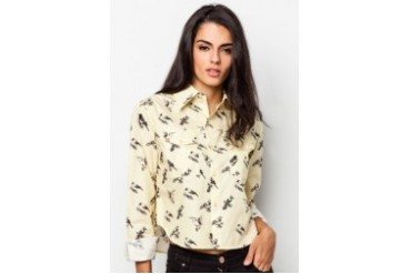 Pestle & Mortar Ladies Birdy Long Sleeve Shirt