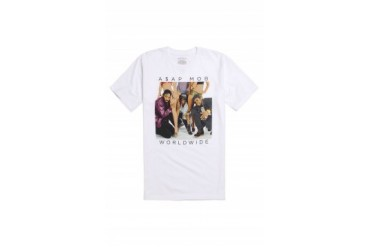 Mens A$Ap Worldwide T-Shirts - A$Ap Worldwide Portrait T-Shirt